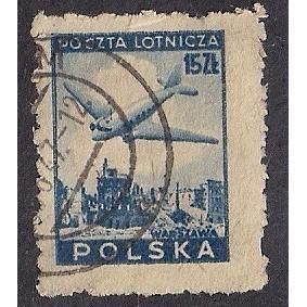 (PO) Poland Sc# C15 Used