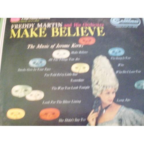 33 RPM JAZZ: #1496.. FREDDY MARTIN - MAKE BELIEVE / RCA CAMDEN CAL 315 / VG+