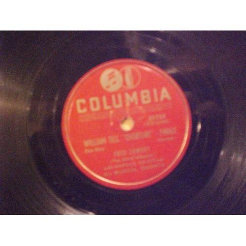 78 RPM: #1779.. FRED LOWERY - WHISPERING & ESTRELLITA / COLUMBIA 36727 / VG/VG+
