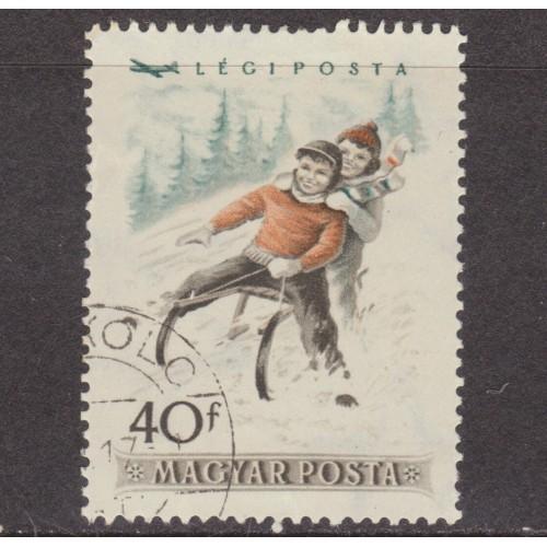 USED HUNGARY #C158 (1955)