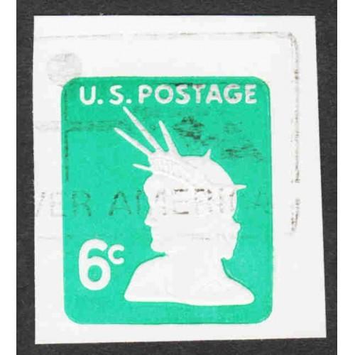 United States - Scott #U551 Used - Cut Square (3)