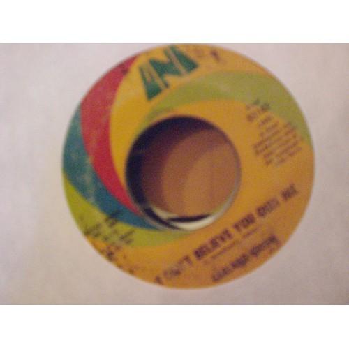 45 RPM NORXO: #4850.. GARLAND GREEN - JEALOUS KIND OF FELLA & I CAN'T BELIEVE YO