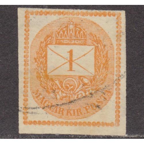 USED HUNGARY #P3 (1874)
