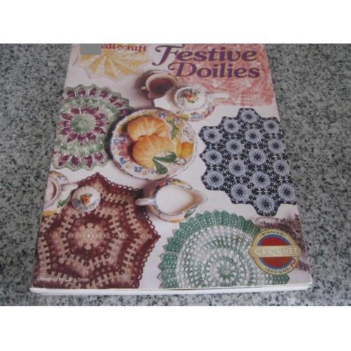 FESTIVE DOILIES  - CROCHET LEAFLET/BOOK ONLY