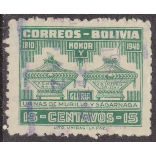 USED BOLIVIA #271 (1941)