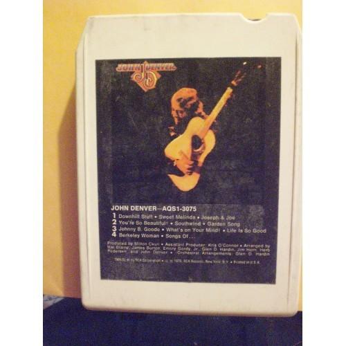USED 8 TRACK: #1203.. JOHN DENVER / RCA AQS1-3075