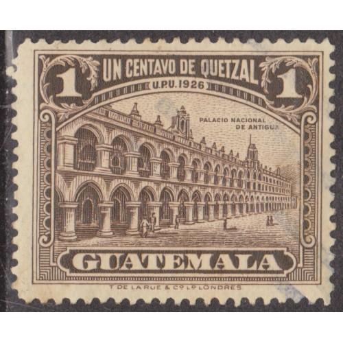 USED GUATEMALA #234 (1929)