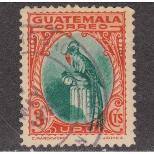USED GUATEMALA #275 (1935)
