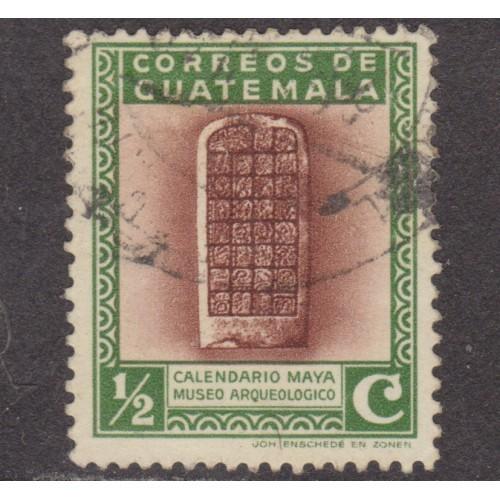 USED GUATEMALA #292 (1939)