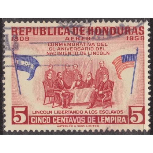 USED HONDURAS #C292 (1959)