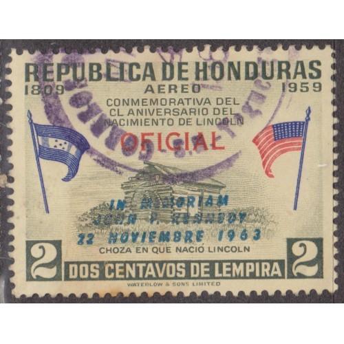 USED HONDURAS #C326 (1964)