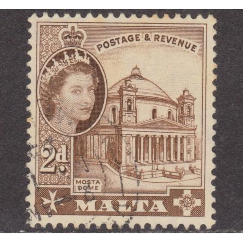 USED MALTA #250 (1956)