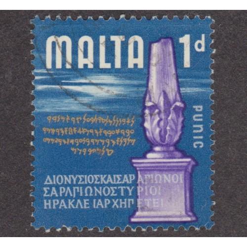 USED MALTA #313 (1965)