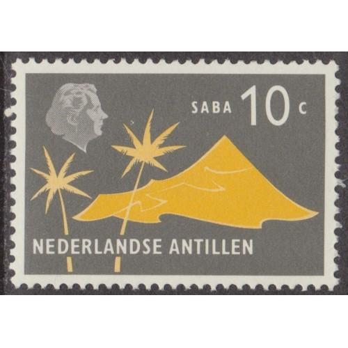 UNUSED/NH NETHERLANDS ANTILLES #245 (1958)