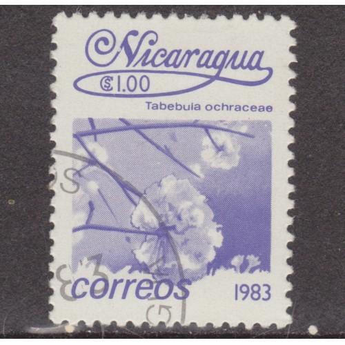 USED NICARAGUA #1221 (1983)