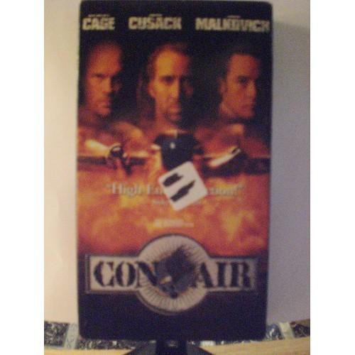 VHS MOVIE: #215 CON AIR - NICOLAS CAGE .. JOHN CUSACK .. JOHN MALKOVICH