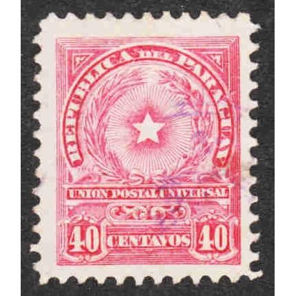 Paraguay - Scott #214 Used