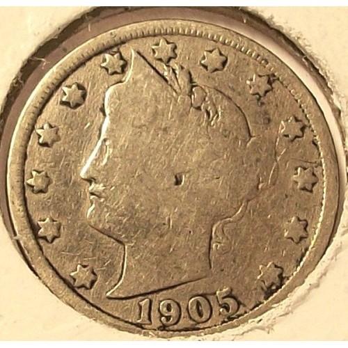 1905 Liberty Head Nickel G4 #743