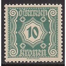 (AU) Austria Sc# J108 MH