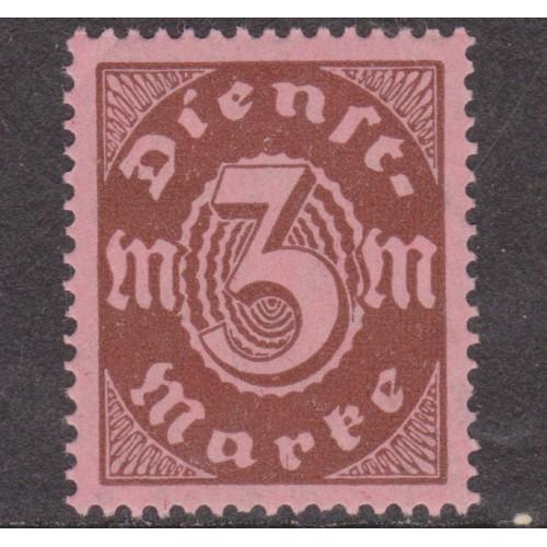UNUSED GERMANY #O16 (1922)