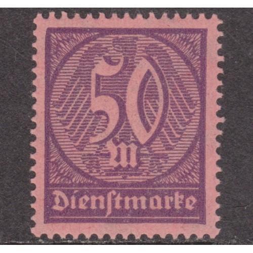 UNUSED/NH GERMANY #O20 (1923)