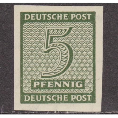 UNUSED/NH GERMANY (WEST SAXONY) #14N3a (1945)
