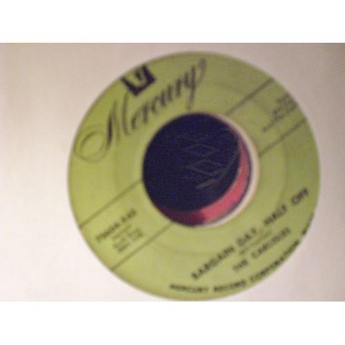 45 RPM: #2380- THE CARLISLES - BARGAN DAY, HALF OFF & NINE HAVE TRIED /1955 MERC