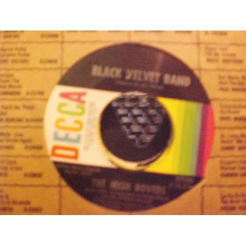 45 RPM: #5463.. IRISH ROVERS - THE UNICORN & BLACK VELVET BAND / DECCA 32254