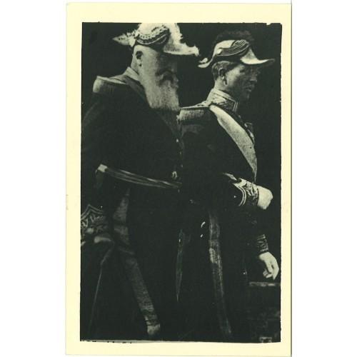 BELGIUM - two kings in uniform