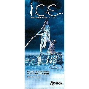 Ice The Show from Russia at The Riviera Casino Vegas Promo Card