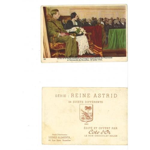 SWEDEN/BELGIUM - QUEEN ASTRID at congress #01/23