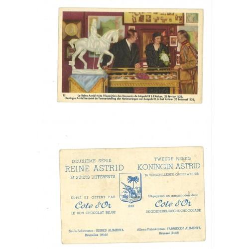 SWEDEN/BELGIUM - QUEEN ASTRID with souvenirs LeopoldII#02/12