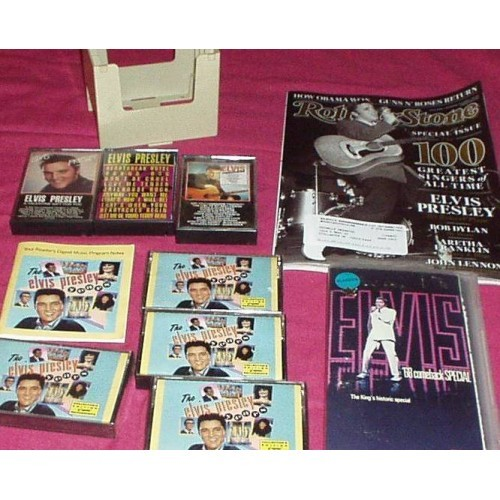 Elvis Presley Mixed Lot of Items- New & Used