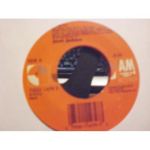 45 RPM R&B: #5549.. JANET JACKSON - ALRIGHT (4:34 & 4:10) / A&M 75021 1479 7