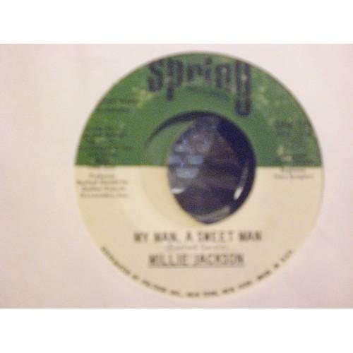 45 RPM NOR: #5569.. MILLIE JACKSON - MY MAN, A SWEET MAN & I GOTTA GET AWAY
