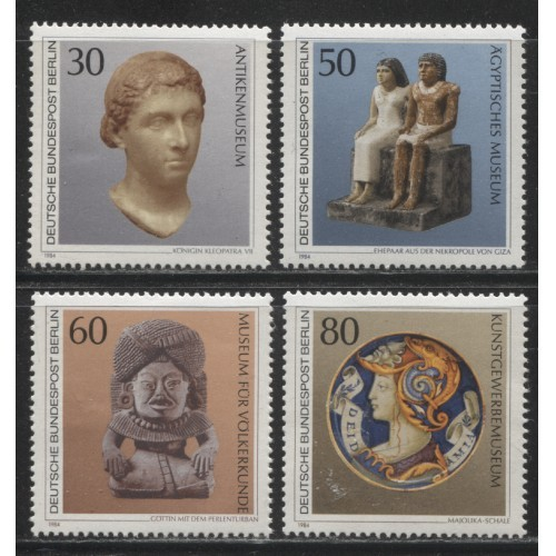 1984 BERLIN West   complete set  mint**, Scott # 9N488-9N491