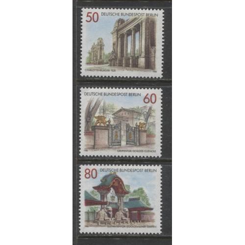 1986 BERLIN West  complete set  mint**, Scott # 9N512-9N514