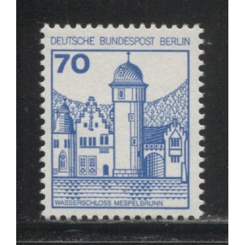 1977 BERLIN West  70 Pf.  Castle type  mint**, Scott # 9N398