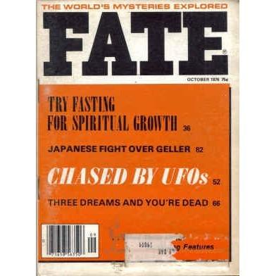 FATE Magazine 1976/10 Psychokinesis 2 Article