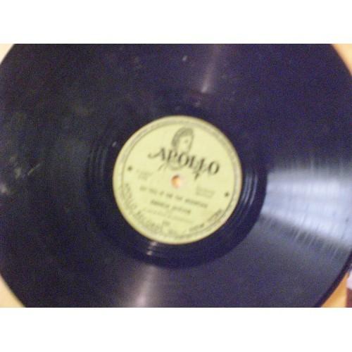 78 RPM: #1309.. MAHALIA JACKSON - SILENT NIGHT HOLY NIGHT & GO TELL IT ON THE MO