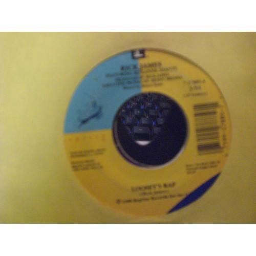 45 RPM: #6635.. RICK JAMES - LOOSEY'S RAP (3:54 & 4:07) / REPRISE 27885 / VG/VG+