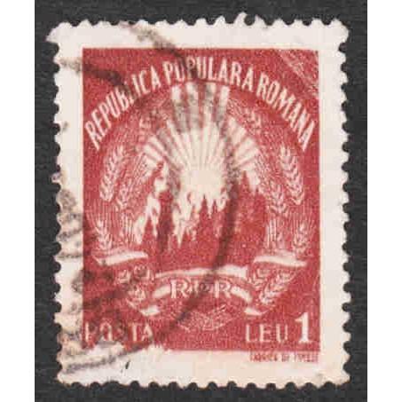 Romania - Scott #698A Used (1)