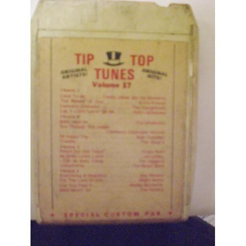 USED 8 TRACK: #316.. VARIOUS ARTISTS - TIP TOP TUNES VOLUME 17 / TTT 17