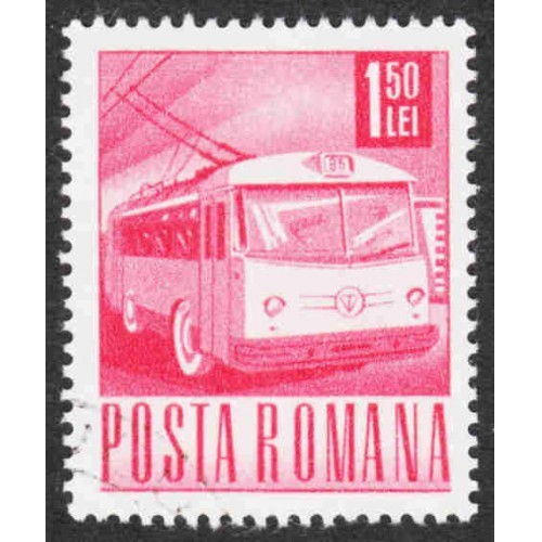 Romania - Scott #1978 CTO - With Gum - Never Hinged