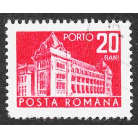 Romania - Scott #J130 CTO - With Gum - Never Hinged - Single - Customer Copy