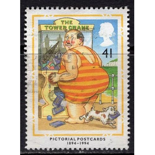 Great Britain (1994) Scott# 1557 used; SCV $1.20