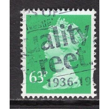 Great Britain Scott# MH235 used; SCV $2.25