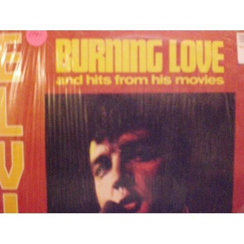 33 RPM ELVIS: #1701.. ELVIS PRESLEY - BURNING LOVE VOL. 2 / PICKWICK CAS 2595 /
