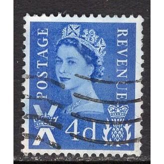 Great Britain-Scotland Sc# 8 (2) used; SCV $0.25