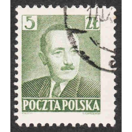 Poland - Scott #478 Used (1)